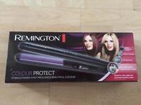 Remington colour protect straightener