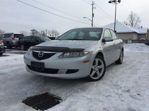 2004 Mazda MAZDA6 GS - HIGHWAY DRIVEN! CERTIFIED & E-TESTED!