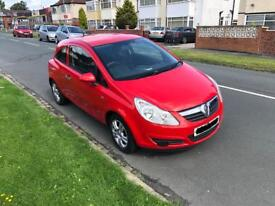 Vauxhall Corsa, 1.0 Active 2008, Low Milage, Long MOT, FSH