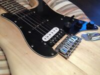 LINDO ZST ELECTRIC GUITAR HEAVILY MODIFIED!!! WORN & UPGRADED WITH FENDER PUPS!!