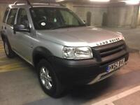 2003 landrover freelander td4 automatic bmw engine in acmint immaculate cond lady owned bargain