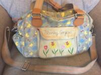 Blooming gorgeous baby change bag