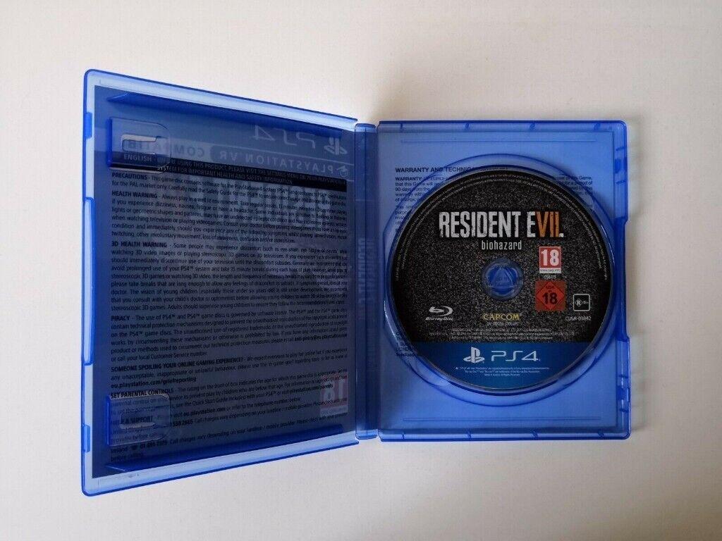 Resident Evil 7 VII Biohazard VR [PSVR] PS4   in Bolton, Manchester    Gumtree