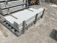 """Smooth 6Ft x 6"""" Reinforced Concrete Fencing Base Panels / Gravel Boards"""