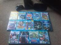 Wii U Black 32Gb, Games, Pro Controller and Box