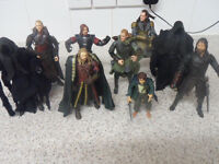 Lord of the Rings action figures wanted,cash,can collect anytime.thank you