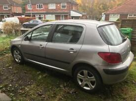 Sell nice car in good condition Peugeot 307 with very low mileage