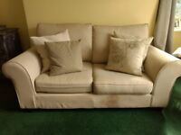 Ikea Marholma Two-Seater Sofa - Beige (Well Used, Pair Available)