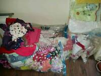 Huge bundle of girls clothes age 0-2 years