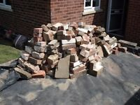 Pile of bricks / rubble.