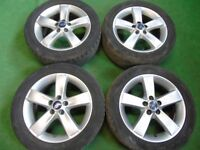 """FORD S-MAX, C MAX, GALAXY, FOCUS, MONDEO, TRANSIT CONNECT 17"""" ALLOY WHEELS"""