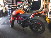 Bargain GRS125 AS NEW, only three months old!! £1395!!