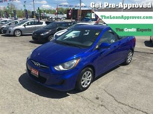 2014 Hyundai Accent L * HTD SEATS * BLUETOOTH * SAT RADIO