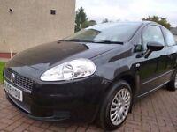 2009 59 Fiat Grande Punto 1.4 Active 3dr Full Yr MOT
