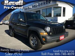 2006 Jeep Liberty 4X4  *AS TRADED
