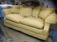 Large sofa, hard wood frame