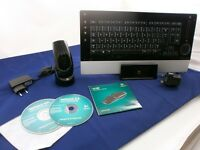 Logitech Wireless Bluetooth Keyboard & Logitech MX Air Mouse