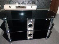 """TV Stand - AVF 3 Shelf Universal TV Stand for up to 55"""" TVs"""