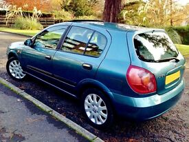 Low Mileage Gorgeous Almera SVE. Low Price. Drives Excellent.