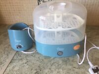Tommee tippee steraliser and bottle warmer