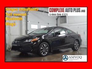 2014 Honda Civic Coupe EX *Toit ouvrant,Camera recul,Mags