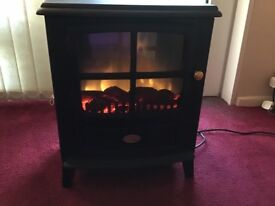 Selling my dimplex log effect fire