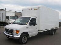 2006 Ford E-450 16Ft Diesel E450 Cube Van