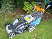 MACALLISTER SELF PROPELLED ELECTRIC LAWNMOWER WORKING BUT VIBRATES HENCH ONLY £20 FOR QUICK SALE