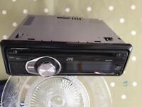 JVC CAR STEREO CD PLAYER RADIO AUX IN