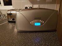 digital toaster (Morphy Richards)