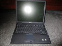 Dell Latitude C540 Laptop (Spares or repair) (But Working)