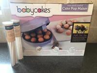 Cake Pop Maker & 2 x unopened cake pop sticks