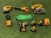 Dewalt 18v cordless power tool combo kit
