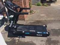 Reebok ZR10 Treadmill, with incline and 24 programs