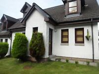 3 bed semi Oban Benderloch house Exchange for Midlothian Stirling Edinburgh Areas need 3 bed