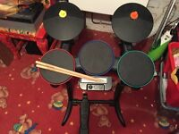 Band Hero drum kit for the nintendo Wii