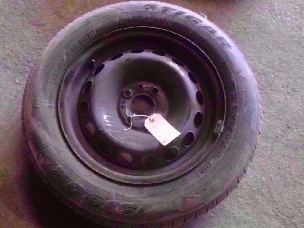 Wheel  Ford Ka Steel Wheel With Tyre