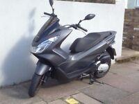 Honda PCX 125 2014 Low miles for sale £1,800 Matt Grey Full Honda service history