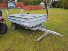 Compact Tipping Trailor 7X4
