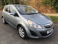 CORSA 1.2 EXCITE 5 DOOR 11 REG AUTOMATIC IN GREY METALLIC WITH SERVICE HISTORY AND MOT FEB 2019