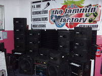 P.A. HIRE The Jammin' Factory Newry