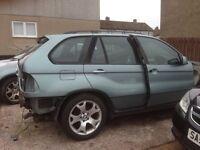 Part broken 3.0 petrol x5 for sale 2002