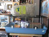 Ferplast 120 Gabbia Large Indoor Cage Guinea Pig or Rabbit