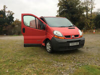 RENAULT TRAFIC SAME VIVARO , 11 MONTHS MOT , VERY GENUINE VAN,ONE PREVIOUS OWNER