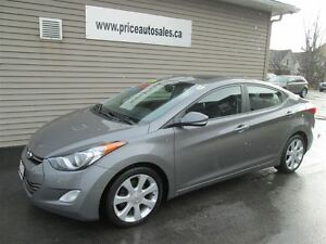 2013 Hyundai Elantra LIMITED-HEATED LEATHER-SUNROOF!!!