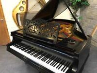 Beautiful 1910 Gebruder Knake, Germany Black Grand Piano - CAN DELIVER