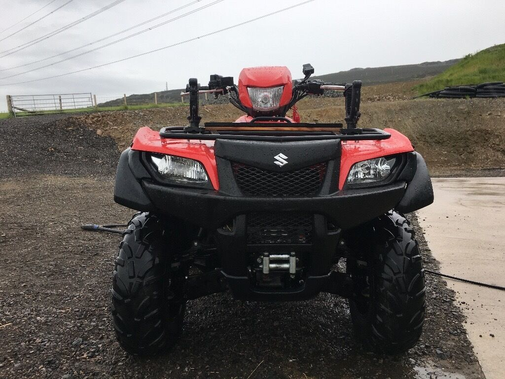 suzuki king quad 700 by suzuki kingquad 700 cc only 386 hours in huntly aberdeenshire