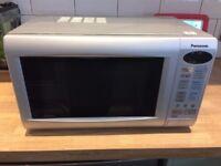 Panasonic NN-K125M Silver Compact Microwave