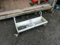 3ft sheep goat hang on feed trough farm livestock tractor