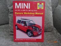 Haynes, Mini Manual 2001 to 2006 Petrol